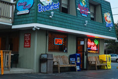 Open early for breakfast Royalty Free Stock Photography