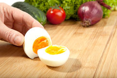 Open Egg Royalty Free Stock Images
