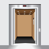 Open elevator door Royalty Free Stock Image