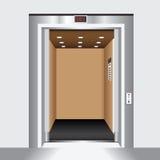 Open elevator door Royalty Free Stock Image