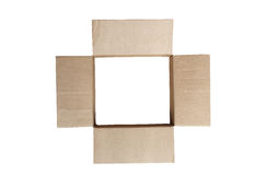 Open Empty Box Royalty Free Stock Photos