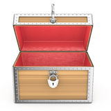 Open empty chest Royalty Free Stock Images