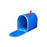 Open empty mailbox Royalty Free Stock Photography