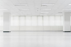 Open empty office space Royalty Free Stock Image