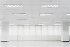 Open empty office space Royalty Free Stock Images