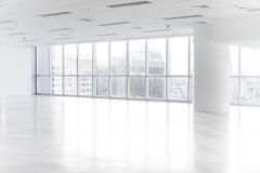 Open empty office space Stock Photo