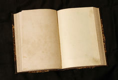 Free Open Empty Pages In Old Book Royalty Free Stock Photos - 25968