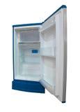 Open empty refrigerator Stock Photo
