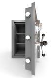 Open empty safe. Stock Photos