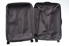 Open empty suitcase Royalty Free Stock Photo