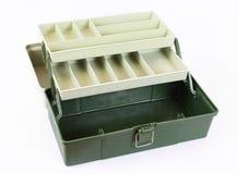 Open empty tool box royalty free stock photo