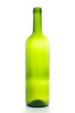 Open empty wine bottle Royalty Free Stock Photo