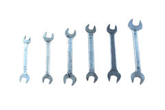 Open-end Wrench. On white background stock photo