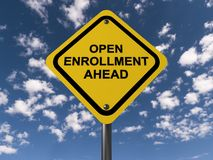 Open enrollment ahead Stock Photography