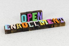 Free Open Enrollment Healthcare Plan Aca Medicare Marketplace Royalty Free Stock Photo - 164260925
