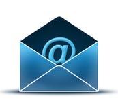 Open envelop royalty-vrije illustratie