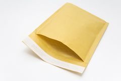 Open Envelope. Open tick envelope on a white background Royalty Free Stock Images