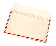Open envelope. On white background Royalty Free Stock Photography