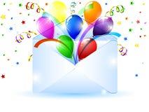 Open envelope Stock Photos