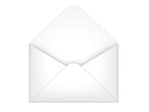 Open envelope Royalty Free Stock Image