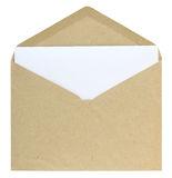 Open envelope Royalty Free Stock Photos