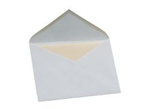 Open Envelope Stock Images