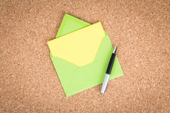 Open Envelope Royalty Free Stock Photography