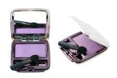 Open eyeshadow box Stock Images