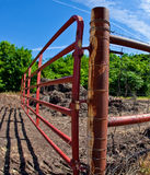Open Farm Gate Stock Photos