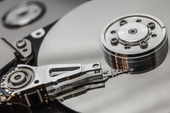 Open faulty HDD Royalty Free Stock Photography
