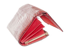 Open female wallet Royalty Free Stock Photo
