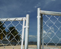 Open Fence Stock Images