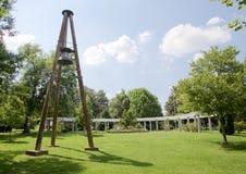 Open Field of Grassland in Centennial Park in Nashville, TN Royalty Free Stock Image