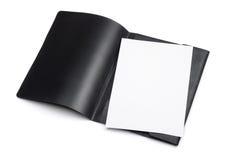 Open file folder Stock Image