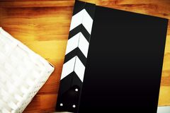 Open film slate Royalty Free Stock Images