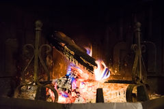 Open fireplace Royalty Free Stock Photos