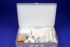 Open First Aid Kit Stock Images
