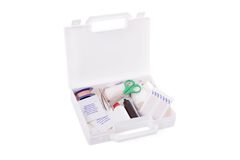 Open first aid kit Royalty Free Stock Images