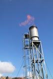 Open flare burner equipment Stock Photography