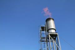 Open flare burner equipment - Series 2 Stock Images