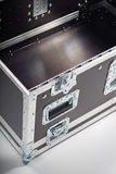 Open Flight Case Royalty Free Stock Photography
