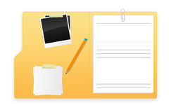 A open folder Stock Images