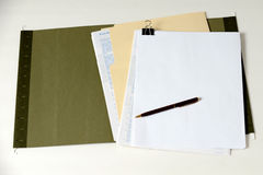 Open folder Royalty Free Stock Photo
