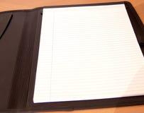 Open Folder. Black Folder stock photography