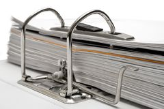 Open Folder (Close View) Royalty Free Stock Photo