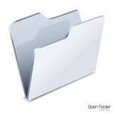 Open folder icon. Stock Images