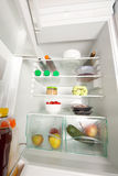 Open fridge Stock Image