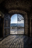 Open gate Royalty Free Stock Images