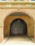 ancient castle door stock photo