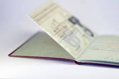 Open german passport 02 Stock Images
